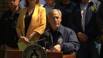 Governor Greg Abbott Talks About Tornado Damage in East Texas