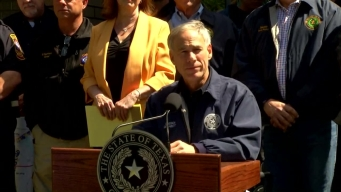 Governor Greg Abbott Talks About the Tornado Damage in East Texas