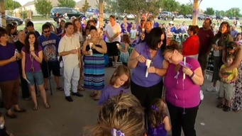 Slain Saginaw Girl Remembered at Vigil