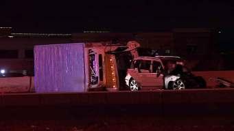 Wrong-Way Crash Closes U.S. 75 in Allen