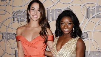 Biles, Raisman Ditch Leotards for Bikinis in new SI Issue