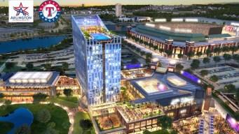 Rangers Reveal Plans for $250 Million 'Texas Live!' Project