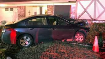 Intoxicated Driver Crashes Into Arlington Home: Police