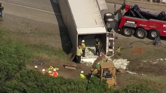 WB I-30 to SH-360 Ramp Back Open After 18-Wheeler Crash