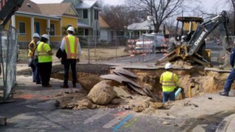 Austin Sinkhole Could Help With Runoff Study