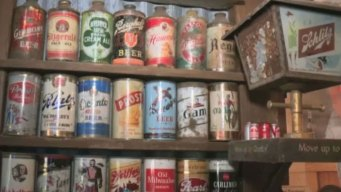 Texas Man's Massive Beer Can Collection