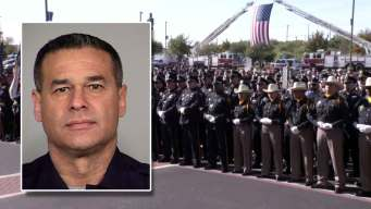 North Texas Police Pay Respects to Slain San Antonio Police Detective