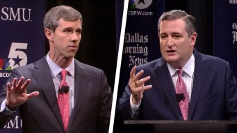 Sparks Fly in First Cruz, O'Rourke Debate