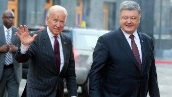 Biden in Ukraine: Trump Should Keep Sanctions on Russia