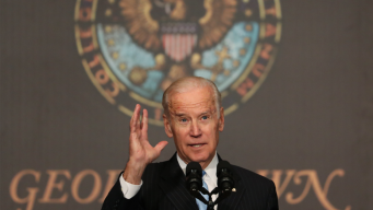 Biden in 2020? He's Not Ruling it Out, He Says With a Smile