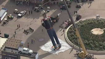 Big Tex Returns to the Midway