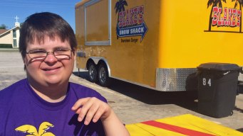 Man With Down Syndrome Opens Dream Business on Mother's Day