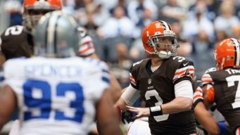 Orton's Release Won't Change Weeden's Approach