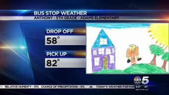 Bus Stop Weather - May 5, 2016