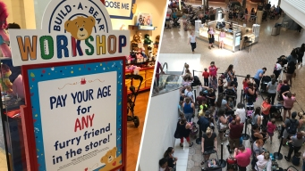 Build-a-Bear Closes Lines for 'Pay Your Age Day'