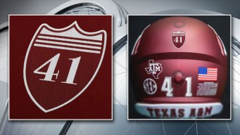 Aggies to Honor George H.W. Bush With Patches, Decals