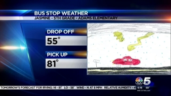 Bus Stop Weather - May 4, 2016