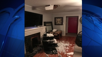 Man Left With Hole in Ceiling After Satellite Installation