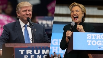 Trump, Clinton Campaign in Swing States
