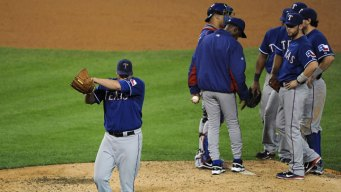 Game 3 Loss Bursts Rangers Pitching Bubble