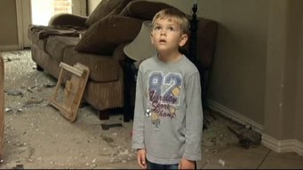 6-Year-Old Boy Sees Tornado Devastation for First Time