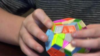 Rubik's Cube Speed Champ is Color Blind