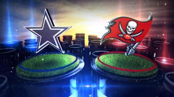 Cowboys Vs. Bucs on NBC 5