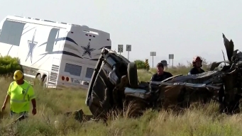 4 Dead after Cowboys Bus Collision in West Arizona