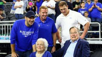 Garrett, Romo, Witten Root for Duke