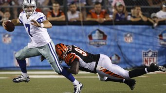 Cowboys Tapped for Another Hall of Fame Game