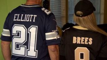 Cowboys vs Saints: North Texas Households Divided