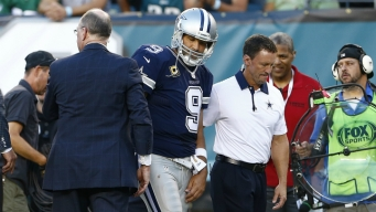 Cowboys Lose Romo, Beat Eagles 20-10