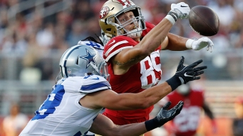 Prescott Throws for TD Before 49ers Rally Past Cowboys
