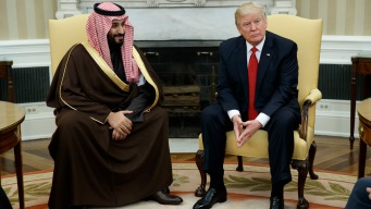 Trump, New Saudi Crown Prince Vow to Ease Tension with Qatar