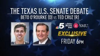 Cruz, Beto Debate Preview