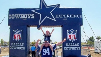 Wildfire Victims Headed to Cowboys Thanksgiving Game