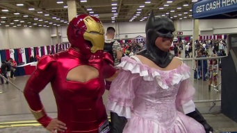 Comic Con Starts in Dallas