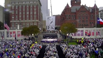 Bitter Cold Won't Hamper JFK Commemoration