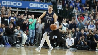 Doncic Helps Mavs Top Pelicans 122-119 to End 6-game Skid