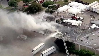 3-Alarm Fire Burning in Southwest Dallas