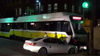 Vehicle Struck by DART Train