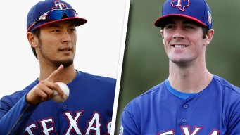 Sunday a Big Day for Rangers Aces