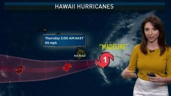 Triple Storm Threat Looms Near U.S.