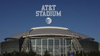 Cowboys Stadium Renamed as AT&T Stadium