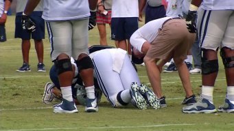 Rookie DE's Injury Means More Shuffling