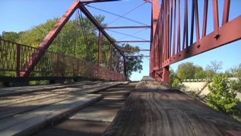 Haunted Bridge Attracts Halloween Visitors