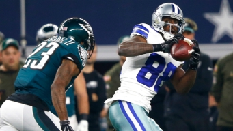 Cowboys, Eagles Go Into Half Tied, 7-7