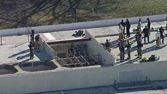 Person Electrocuted Atop North Dallas Building: DFR