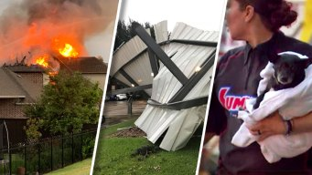 Wednesday Storms Leave Damage, House Fires in Its Wake