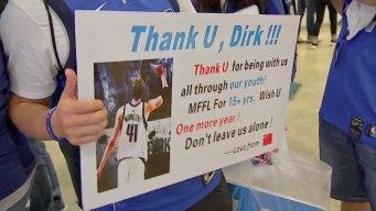 Emotional, Tearful End to Dirk Nowitzki's Career
